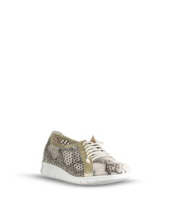 RKS 643344 Zapatos Mujer Gris