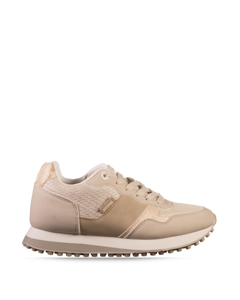 Mustang 60033 Zapatillas Mujer Taupe